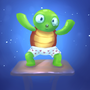 Gonzo Turtle by Tedka