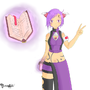 Violet - Orignal Character by Benalki
