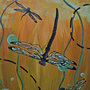 Dragonflies by ittykittycat