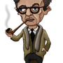Jean-Paul Sartre by dYb