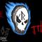 Skull ghost logo