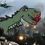 Dinosaur rampage by Askandar