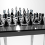 3D Chess Set 02 by Lusin