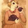Mousie lady by Jaona