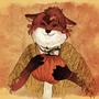 Red foxxy by Jaona