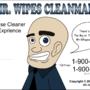 Wipes Cleanman by DestinyArtsStudios