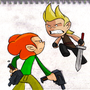 Larry VS Pico by RexHyena