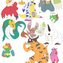 Digimon Collection by Totemhead