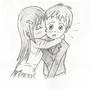 Manga kiss on the cheek by ssenpsl