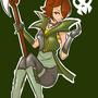Devilmancer Roxanne by Lacryel