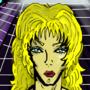Blonde lady in a hallway by slaurak555