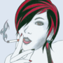 Cigarette Girl #10 by Crystalspike