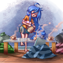 Konata Tea Party by G3no