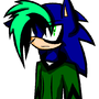 Gothic Sonic by ZombieChick147