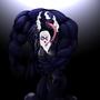Venom & Black Cat by luckEfuck