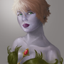 Elf Portrait by BlazeNoire
