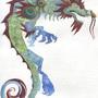 Cloud Serpent mount by KattyC