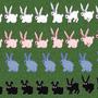 Bunny Sprites Alpha Stage