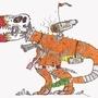 Tyrannosuraus-Eggs by JJCripps1996