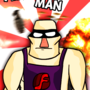 Flash Man by Gypustro
