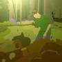 Dan in a forest by Shinodan360