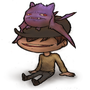 Hamburger the Crobat chillin by Forty-One