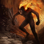 Volcano is me by Ludic