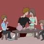 Tea Party by pwneropwnage