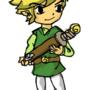 Toon Link by SqueegeeMcGee