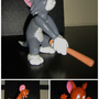 Tom and Jerry Sculpture by Mario644
