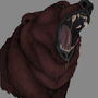 Fierce Roaring Bear by ZeeMint