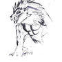 Werewolf Drawing by xblazingstar94x