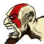 Kratos Scream by Emmettc41