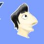 3 kartoon heads