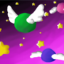 Flying gumball