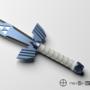 Legend of Zelda - Master Sword by Lusin
