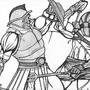11x14 gladiators by jwaphreak