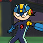 Mega Man NT Warrior by StalkerPT