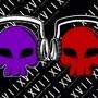 Skull & Headphones by AlexierXVII