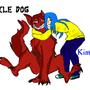 SmileDog and Kimi by temari