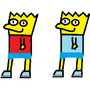 Bart Simpson :D by SuperMarioFan1234