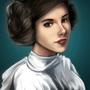 Princess Leia by unttin7