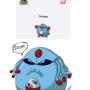Tentasey - New Pokemon Fusion by JackSquatJB