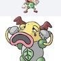 Weepinmime! New Pokemon Fusion by JackSquatJB