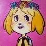 Isabelle Painting by doublemaximus
