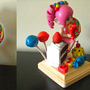 Candy Girl Sculpture by Mario644