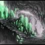 Emerald Cave by SkyrisDesign