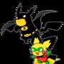 Poke-man and Boy Pichu by lemonshaman