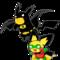 Poke-man and Boy Pichu