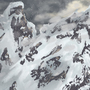 Snowy Mountains by Sneethrak